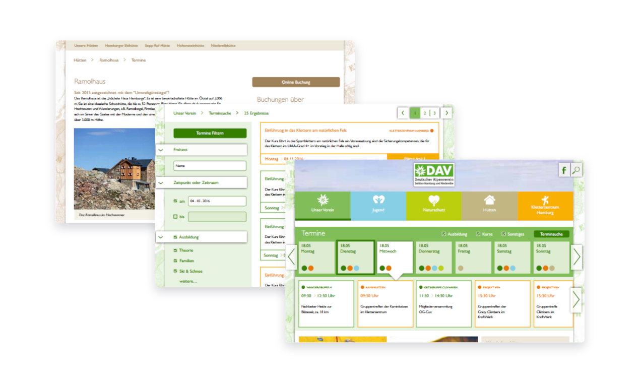 Vereinssoftware mit CMS und Kursverwaltung