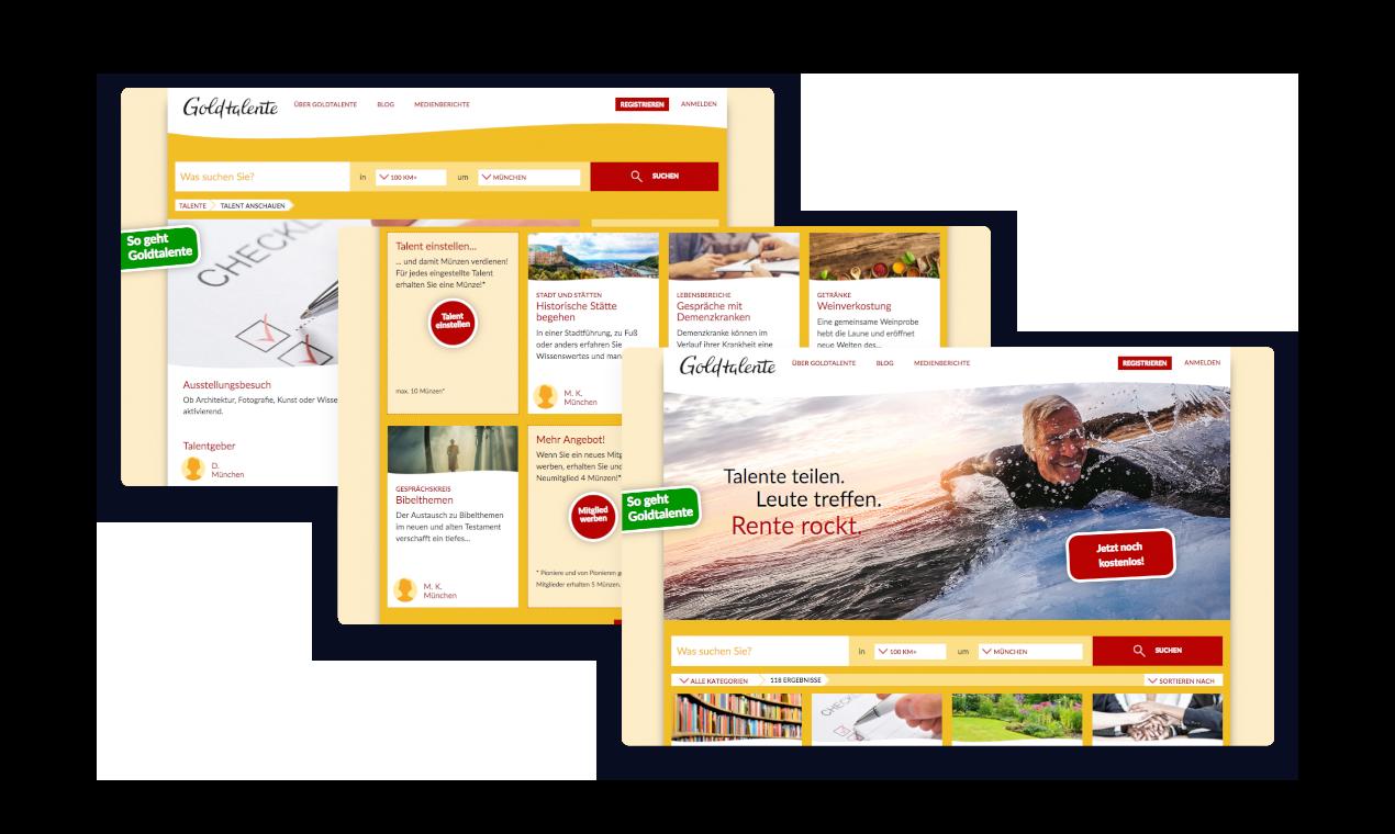 Soziales Portal für Rentner und Pensionäre